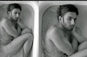 Ranveer Singh's old bathtub photo goes viral and Twitterati is losing...