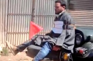 FIR against army Major for 'tying' Kashmiri youth to jeep not quashed
