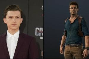 Spiderman's Tom Holland cast as young Nathan Drake in Uncharted movie...