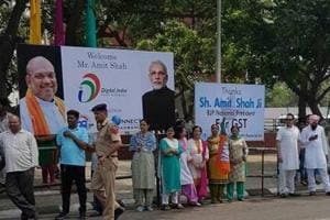 Chandigarh MC goes soft on BJP over illegal hoardings, flags put up...