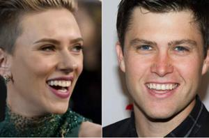 Scarlett Johansson has a new man in her life. Spotted making out with...