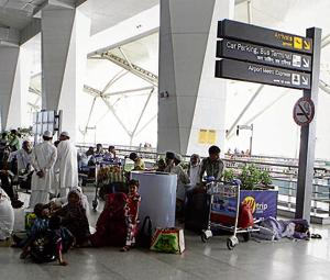 Parliament panel concerned over congestion at Delhi airport