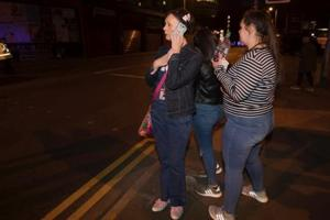 In pics | Panic grips Manchester after terror blast at Ariana Grande...