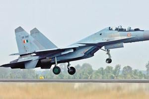 Sukhoi-30 fighter jet goes missing after losing radio contact near...