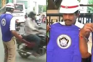 The Hyderabad Traffic Police has taken up an initiative to protect its...