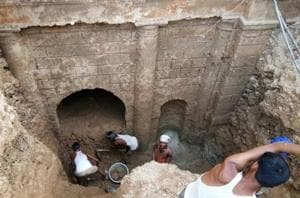 Now, a room discovered beneath Lucknow's iconic Chhatar Manzil