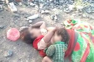 Heartrending in MP: Baby tries to breastfeed as mother lies dead
