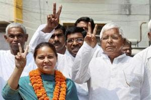 I-T dept to grill Lalu's daughter Misa Bharti, husband in benami...