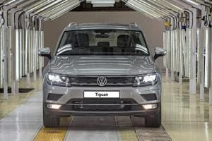 Tiguan is the first 'Made in India' SUV by the German automaker.