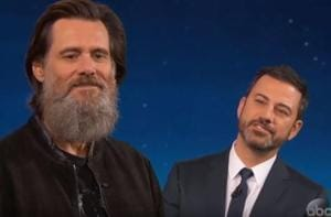 Jim Carrey feels his beard is a bigger star than him, has its own...