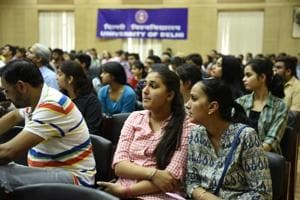 Campus Calling: 60,000 register for DU UG asmissions but forms...