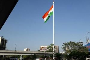 100-foot-tall national flag now flies high in this Mumbai suburb
