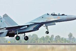 Thick forest cover poses challenge in search for missing Sukhoi-30...