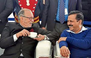 Kejriwal writes to Baijal to discuss power distribution between L-G...