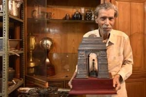 Photos: Meet the national award winning silversmith of Old Delhi