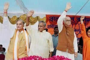 Babri Masjid demolition case: Court asks Advani, Bharti, Joshi to...