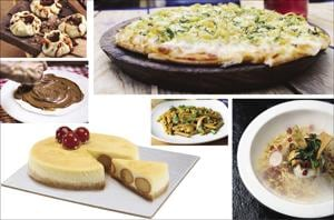 Presenting some of the most unusual yet some of the most popular dishes being served in restaurants currently.