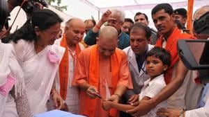 UP CM Yogi Adityanath launches campaign to eradicate Japanese...
