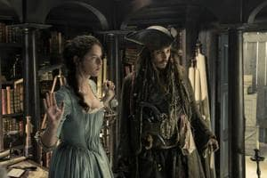 The plot is a semi-coherent and the CGI somewhat murky, but Johnny Depp is a delight as he teams up with a couple of misfits to find  a mysterious artefact that can save his life.