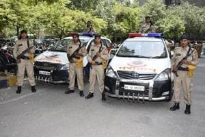 Trained in offensive driving, Parakram vehicles to secure Delhi roads