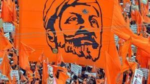 A file photo of a Maratha rally.