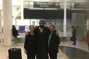 Retired CRPF officer back in Canada after being denied entry