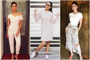 Actors Alia Bhatt, Sonakshi Sinha and Shilpa Shetty Kundra lead the fitness brigade.