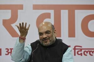 Amit Shah lauds Major Gogoi involved in Kashmir's 'human shield'...