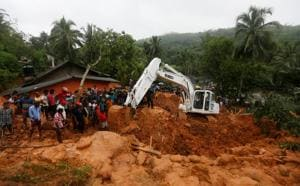 25 killed after monsoon rains trigger floods, mudslides in Sri Lanka
