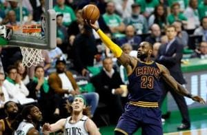 Cleveland Cavaliers star LeBron James breaks Jordan's record in match...