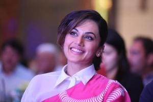 Actor Taapsee Pannu at the HT Youth Forum: Top 30 Under 30 inChandigarh on Friday night.