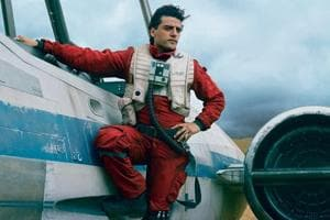 Carrie Fisher slapped Oscar Isaac 27 times on the Star Wars:The Last...