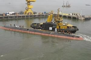 India's indigenous Scorpene submarine Kalvari test-fires torpedo