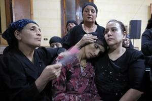 Grief, rage in Egyptian church after 28 Coptic Christians killed in...