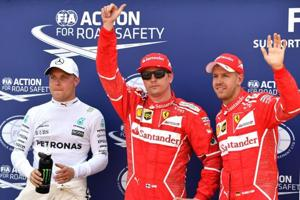 Kimi Raikkonen takes pole for Monaco Grand Prix, Lewis Hamilton 14th