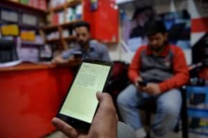 Mobile internet suspended as protests hit Kashmir Valley