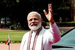 Prime Minister Narendra Modi's third strength is his gift for easy and fluent communication. It's not just that he speaks well but he also has the capacity to convey complicated concepts or politically awkward positions in simple and appealing terms