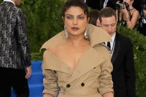 It's a toss-up between my Met Gala trench coat and Emmy gown: Priyanka...