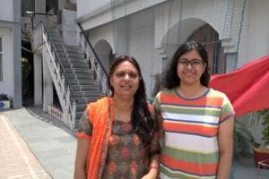 Lucknow's Iti Singh plans to celebrate her success in the Central Board of Secondary Education (CBSE) Class 12 board examination 2017.