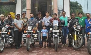 From Kanyakumari to Ladakh: Four bikers vroom across India, all for...