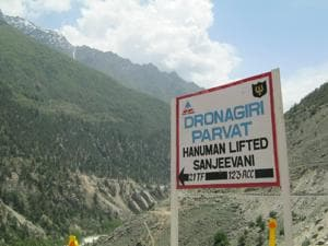 Locals in Dronagiri believe Hanuman will change their fortunes
