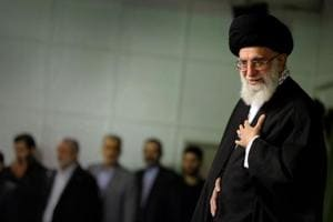 Iran's Supreme Leader Ayatollah Khamenei says Saudi Arabia is cow...