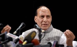 NDA govt has a permanent solution to solve Kashmir conflict: Rajnath...