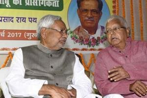 Nitish Kumar's aim is to tame Lalu Yadav, not align with BJP