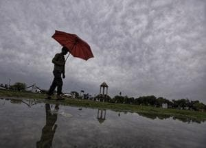 Photos: Delhi - NCR gets respite as rainfall brings down temperature