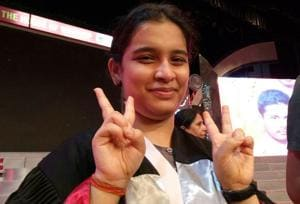 Ayushi Srivastava has scored 99.25% in the Indian School Certificate (ISC) examination on Monday to bag the second rank in the country in a tie with three others.