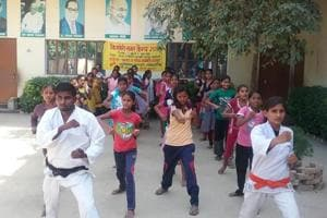 Girls from PM Narendra Modi's adopted village Nagepur to form...