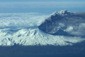 Alaska volcano erupts spewing ash over 10,000m high; aviation alert...