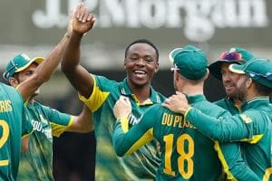 Kagiso Rabada 4/39 skittles England out for 153 in Lord's ODI