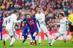 Lionel Messi, Ronaldo put best foot forward: See their best goals of...